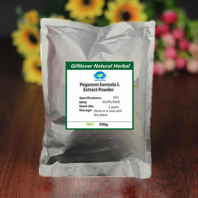Polvo de extracto de 100% puro de Peganum harmala L 10:1, harmina, Luo Tuo plis, Envío Gratis