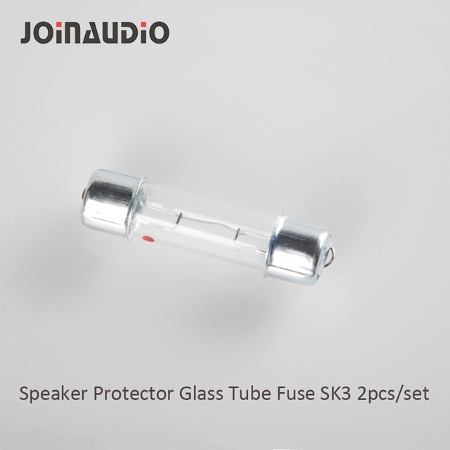 JOINAUDIO Speaker Crossover Tweeter Protector Lamp Fast Acting Cartridge Ceramic Glass Tube Fuse SK3(2pcs for 1set)
