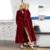 Mujeres Ultra Larga de Ultra Gruesa de Piel de Gran Tamaño de Terciopelo Labrado Encuadre de Cuerpo Entero Robe Albornoz Salón de la ropa Bata camisón ropa de dormir