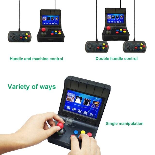 Portable Retro Mini Handheld Game Console 4.3 Inch 64bit 3000 Video Games classical Family  Game Console Gift RETRO ARCADE 08 2