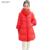 Para baixo casaco, pena quente Parkas fêmea magro pato jaqueta Ladies outono Parkas Mujer mulheres preto casacos de inverno e casacos