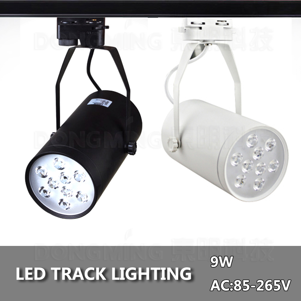5w 7w 9w12w 15w 18w led track light ceiling spotlight business lamp 5w 7w 9w12w 15w 18w led track light ceiling spotlight business lamp boutique storeclothing stage track lighting blackwhite in led spotlights from lights mozeypictures Image collections