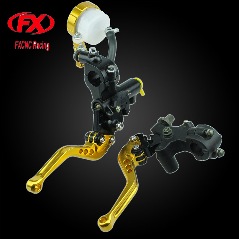 125-600cc Motorcycle Brake Clutch Levers Master Cylinder Hydraulic Brake Cable Clutch For Kawasaki NINJA 300R 2013 - 2016 Z125 for kawasaki ninja 250 ninja250 2008 2015 ninja 300 ninja300 2013 2015 motorcycle aluminum short brake clutch levers black