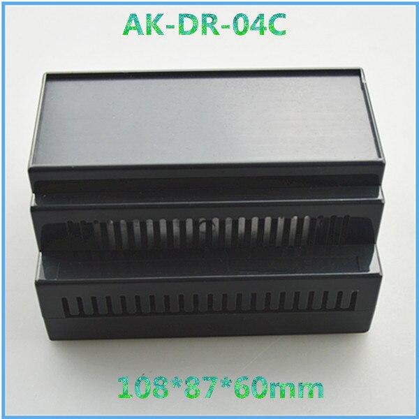 4 pcs a lot free shipping project box 108*87*60mm shenzhen electronics plc plastic enclosure manufacturer