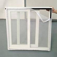1 шт., противомоскитная сетка для окна, сетка для дома, Москитная сетка для занавесок, защита от насекомых, Жуков, Жуков, мух, оконная сетка для экрана