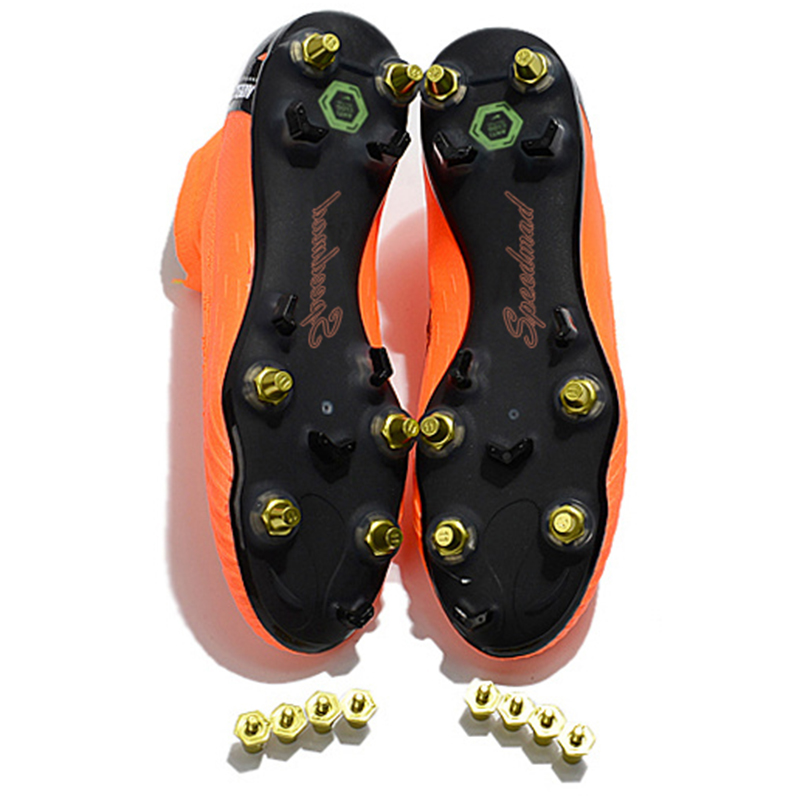 cb9552ced SG Football Shoes AC Steel Spikes Soccer Cleats Superfly VI 360 Elite CR7  Boots Men Zapatos De Futbol Hombre Chuteira Futebol-in Soccer Shoes from  Sports ...