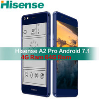 Hisense A2 Pro мобильного телефона 4G 64G NFC отпечатков пальцев телефон snapdragon 625 android смартфон 4G Lte с двумя экранами