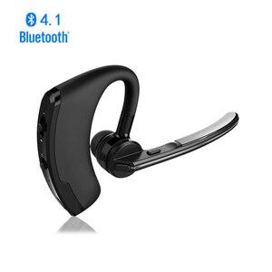 Image 1 - Draadloze Bluetooth Headset Voor Smartphone Handsfree Bluetooth Oortelefoon Met Microfoon Hoofdtelefoon Voice Voor Iphone Bluetooth Oor