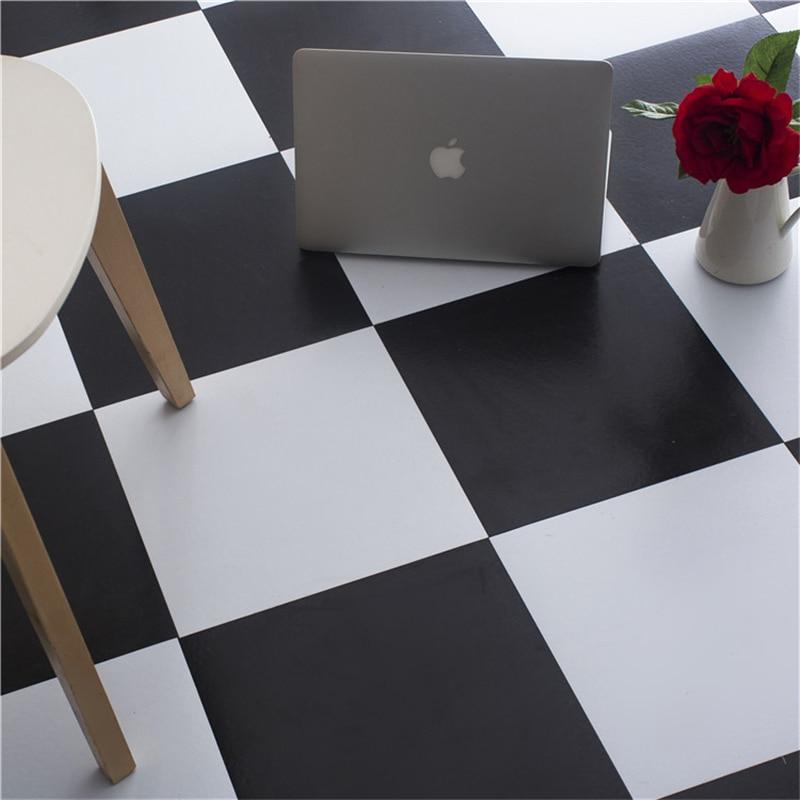 Beibehang Self-adhesive PVC Stone Plastic Floor Double Color Parquet Floor Plastic Household Floor Stickers To Plastic