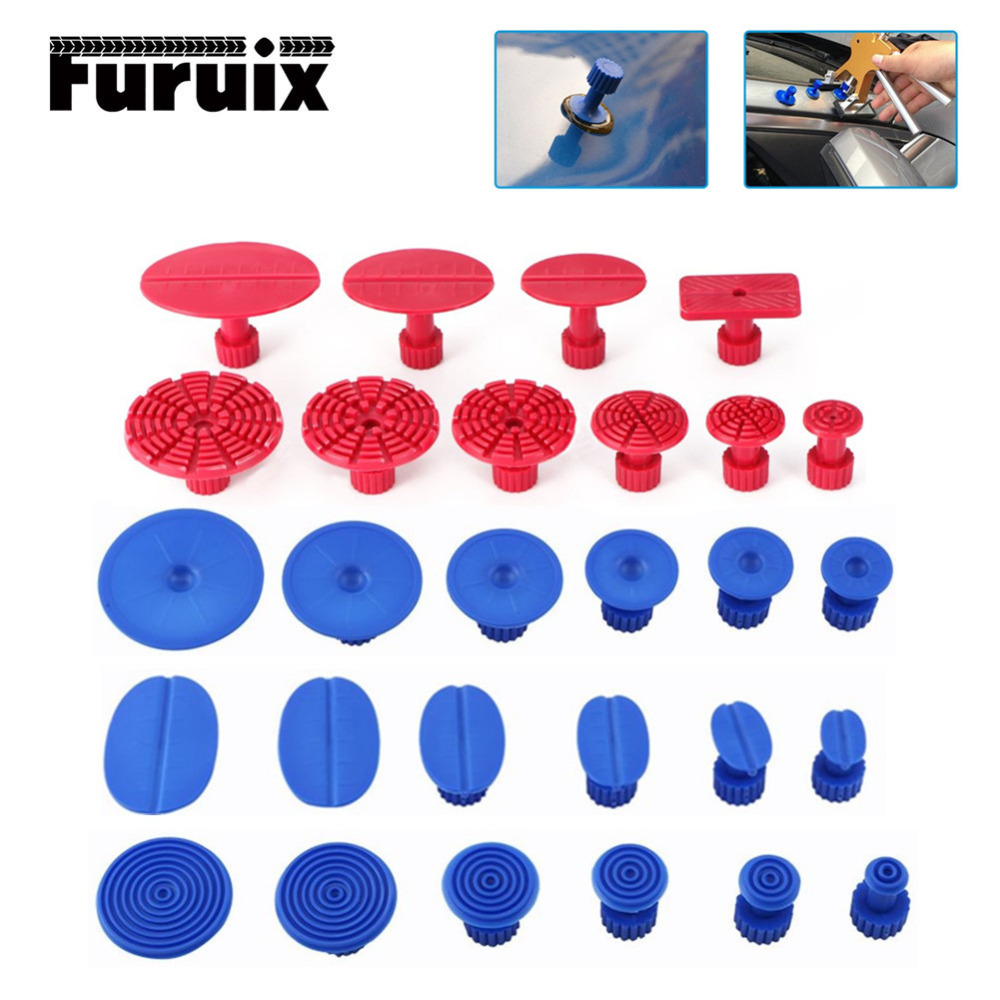 PDR Tools ABS Glue Tabs Auto Body Pulling PDR Paintless Dent Repair Tools Glue Tabs Fungus Suction Cup Suckers Dent Removal