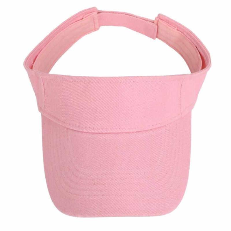 เทนนิส Caps ผู้ชายผู้หญิงกีฬา Headband Classic Sun กีฬา Visor หมวกหมวกชายหาดหมวกกีฬากลางแจ้งหมวก