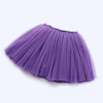girls skirts princess lovely tutu skirts for 1-12Years kids spring summer clothes 21 color short girls lace skirt dance clothes 5