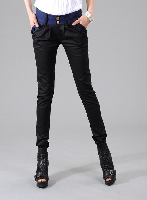 candy color female harem pants casual trousers female ol skinny pants
