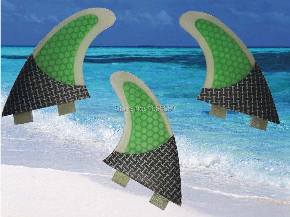 M/G5 fcs surfboards fins carbon  fiberglass future quilhas aletas fcs longboard  Quad fins G3 5 7 prancha de surf fins