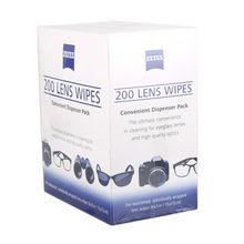 ZEISS Pre-Moistened Cleansing lens Cloths Eyeglasses LCD Display Sensor Glasses Telephone Cleaner Digicam Lens Wipes pack of 200