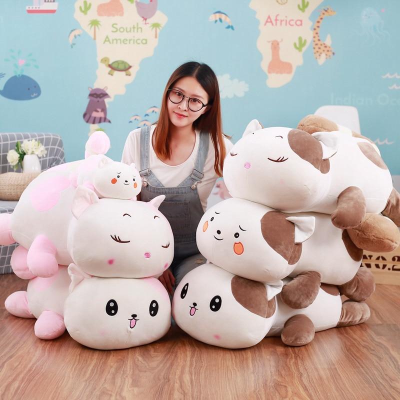 40cm Kawaii Plush Down Cotton Magic Bear Panda Pillow Toys Plush Cartoon Cushion Pillow Kids Gifts