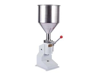 A03 Manual Hand Pressure Cream Paste Soap Juice Honey Food Filling Machine 5-50ML