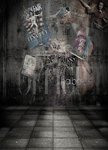 200cm*150cm(6.5ft*5ft) Posters advertising model ...