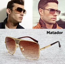 JackJad 2018 Fashion Matador Metal Alloy Frame Gradient Sunglasses Men Brand Design Aviation Sun Glasses Vintage Oculos De Sol