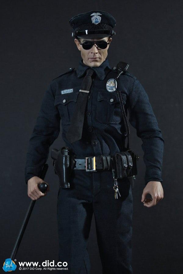 """Oyuncaklar ve Hobi Ürünleri'ten Aksiyon ve Oyuncak Figürleri'de YAPTı MA1009 LAPD Devriye """"Austin"""" Terminator T1000 1/6 Şekil'da  Grup 1"""