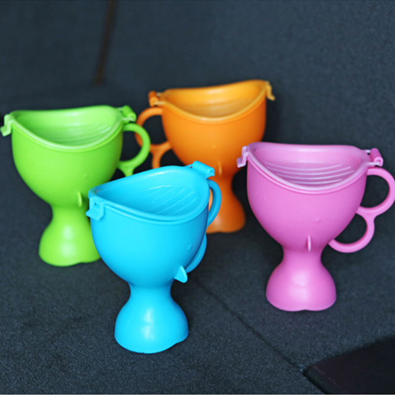 Useful Plastic Baby Urine Cup Car Baby Boys Girl Moving Toilet Baby Toilet Infant YL130