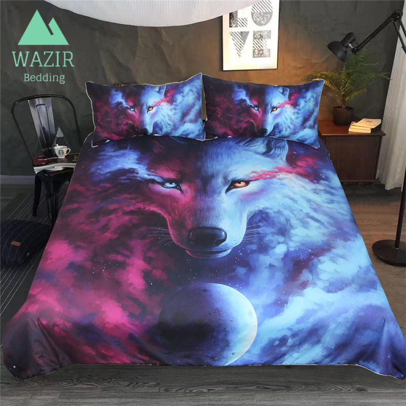 WAZIR Kungfu Animal 3D Printing Bedding Set Size Twin Full Queen King Quilt Cover Pillowcase bed sheet bedroom decor bedclothesWAZIR Kungfu Animal 3D Printing Bedding Set Size Twin Full Queen King Quilt Cover Pillowcase bed sheet bedroom decor bedclothes