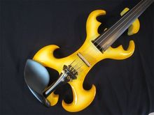 Handmade Brand New Great Streamline Model 4/4 Electric Violin/Violino Solid Wood String Instrument Rosin Case Bow Included