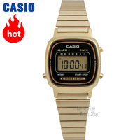 Casio watch Analogue Women's quartz sports watch trend retro small gold watch