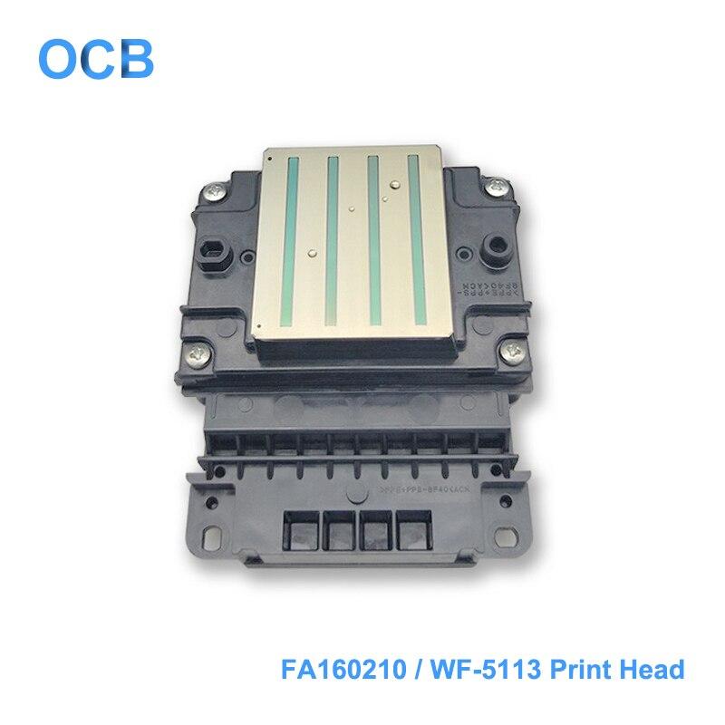 Marque Nouvelle FA160210 Tête D'impression WF5113 5113 Tête D'impression Pour Epson WorkForce Pro WF-5110 WF-5113 WF-5621 WF-4623 WF-4630 Imprimante Tête