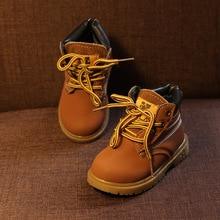 цена Girls Boys Warm Snow Boots Children's Martin Boots For New Comfy Kids Winter Fashion Casual Plush Child Baby Toddler Shoes A776 онлайн в 2017 году