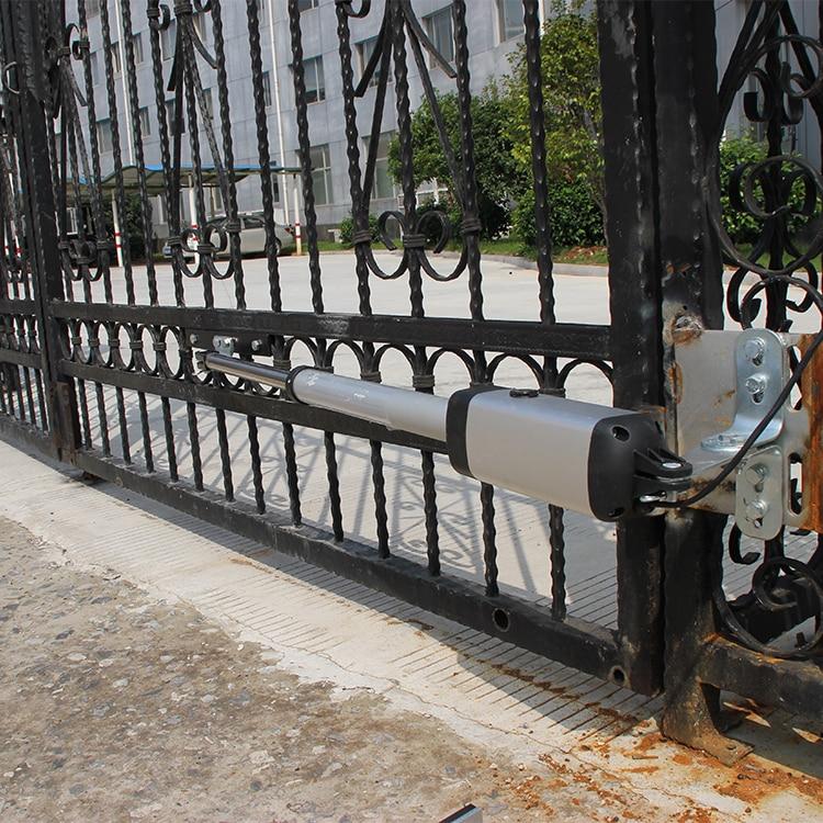 Ouvre-porte automatique en acier inoxydable pour portes GALO PKM-101 jusqu'à to16 pieds de Long et 650 livres pour double porte battante