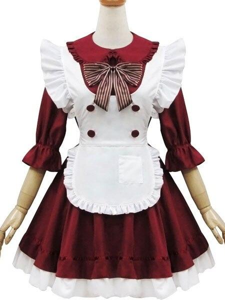 Здесь продается  Two-Tone Bow Chic Maid Costume   Одежда и аксессуары