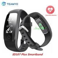 Teamyo ID107 Plus Sport Smart Band Heart Rate Monitor Smart Watch Guided Breathing Fitness Tracker Smart