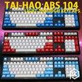 Двухсторонние колпачки taihao abs для игр «сделай сам»  механическая клавиатура с подсветкой  oem профиль