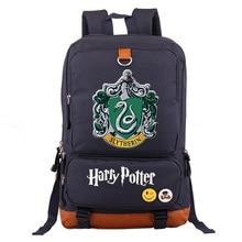 Superhero Backpack Hogwarts Slytherin Gryffindor School Bag