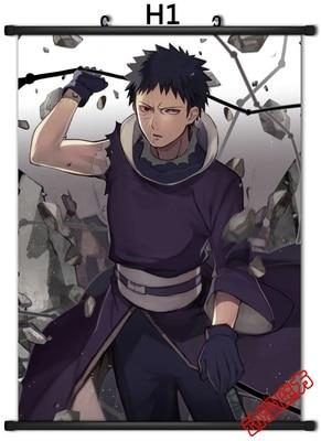 Poster Air Naruto Sasuke Kakashi Japan Anime Boy Room Wall Cloth Print 50