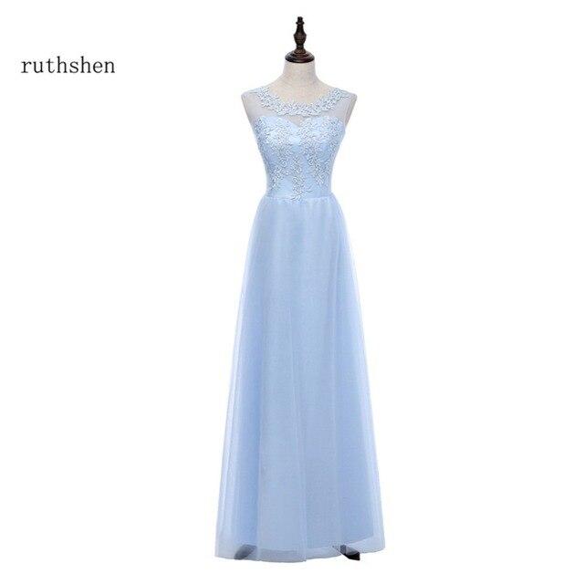 Abschlussball kleid hellblau