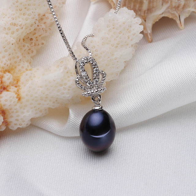 HENGSHENG New Fine Elegant Jewelry Set Top Quality Freshwater Pearl Pendant/Earrings for Women Jewelry