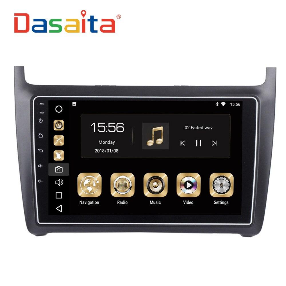 dasaita 9 android 8 0 car gps radio player for vw new. Black Bedroom Furniture Sets. Home Design Ideas