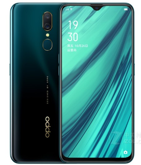 "New OPPO A9 Mobile Phone 4G LTE Android 8.1 MT6771V Octa Core 6.53"" 6+128G Cellphone Back Fingerprint 16MP 3D Body 4020mAh 3"