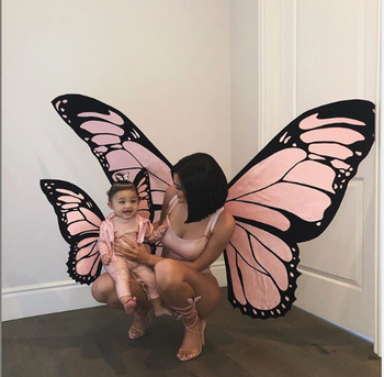 Hot Sales Halloween Cosplay Butterfly Wing Fairy Costumes Fashion Parent-Offspring Elves Princess Attractive Cosplay Costume
