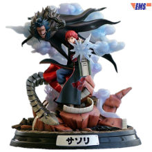 Anime naruto Akasuna nie Sasori Kazekage 1/8 Akatsuki GK posąg z żywicy kolekcja figurek Model Movie Toy X559(China)