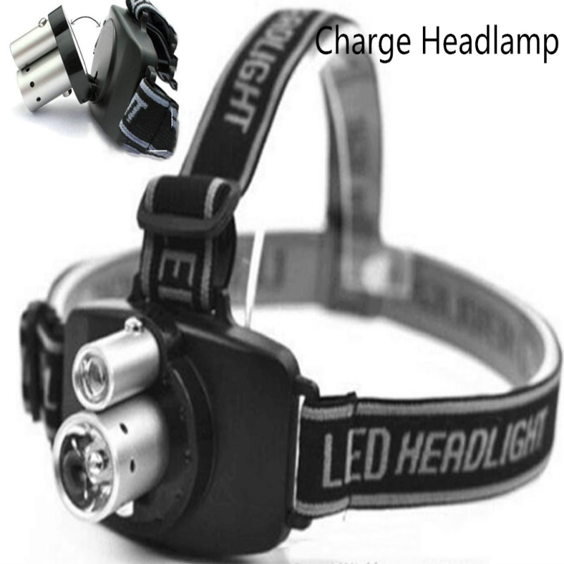 Charging Tattoo Head lamp Beauty Medical Lamp Embroidering Eyebrow Lamp LED Grafting Eyelash Extension Special Double Tube Lamp in Tattoo accesories from Beauty Health