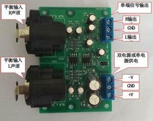 Image 3 - DYKB Stereo XLR dengeli ses girişi dönüşümü RCA ses çıkışı