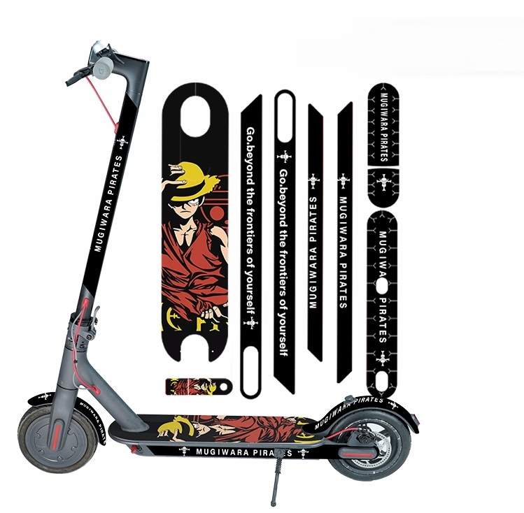 Newest Whole body Stickers for Xiaomi Mijia M365Pro Electric Scooter Tags Decals decoration Protect Fashion Strip Paster Part