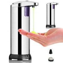 Automatic Liquid Soap Dispenser Pump Touch-free Smart Infrared Sensor Touchless Bottle Bathroom Basin Sanitizer Device