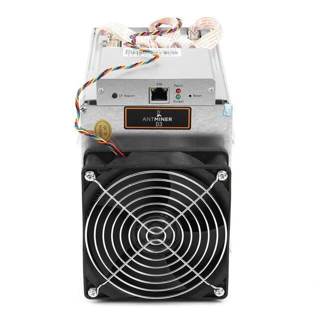 Newest 17 GH/s 1200W AntMiner Bitcoin Mining Machine With 93% efficiency Power Supply PC BTC LTC Dash Miner Machine D3 5