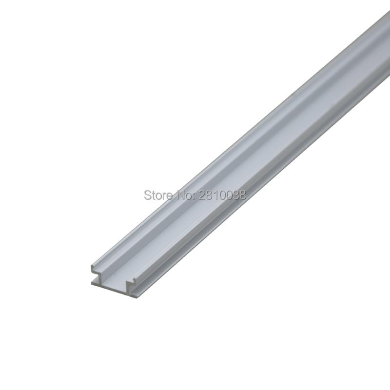 10 կոմպլեկտ / Lot H Shape Anodized Silver Silver- ի LED - LED լուսավորություն - Լուսանկար 5