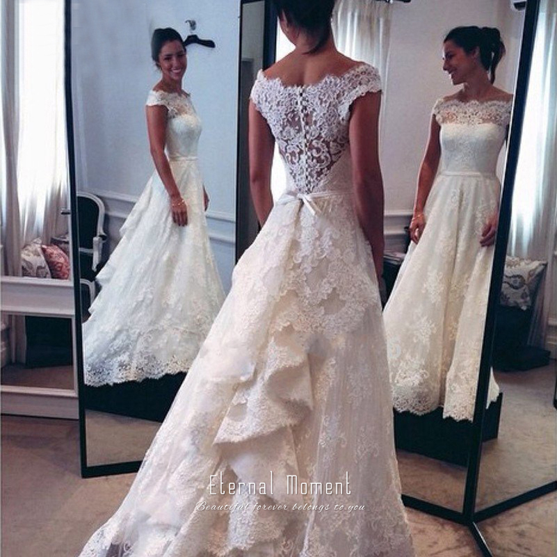 Compare Prices on Lace Western Wedding Dresses- Online Shopping ...