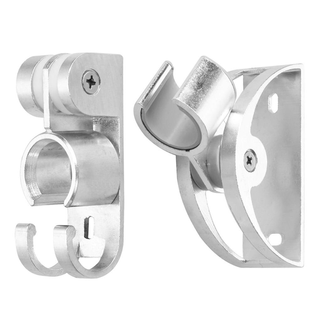 adjustable shower head holder high quality aluminum wall mount shower head bathroom bracket bathroom accessories